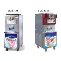 China Commercial Soft Serve Ice Cream Machine , Floor Standing Soft Ice Cream Maker on sale