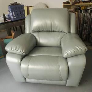 China GA08;  modern genuine leather sofa, recliner sofa, rock function, office furniture, living room furniture, China sofa wholesale