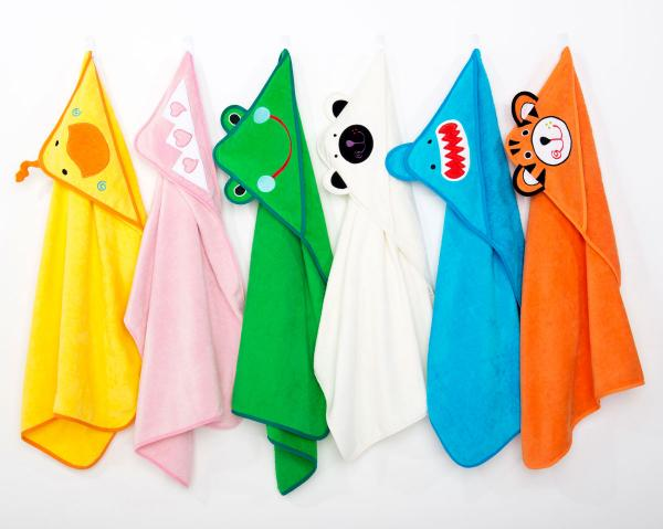 Personalized Hooded Towel Images
