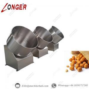 China Peanut Coating Machine Flour Coated Peanut Coating Machine Automatic Peanut Coating Machine Peanut Making Machine wholesale