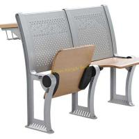 China Fireproof Plywood Metal Folding Chairs For Lecture Hall With Durable Construction wholesale