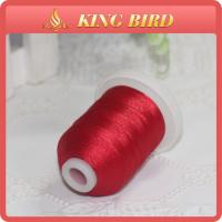 High Temperature Resistant Embroidery Bobbin Thread , Leather Stitching Thread