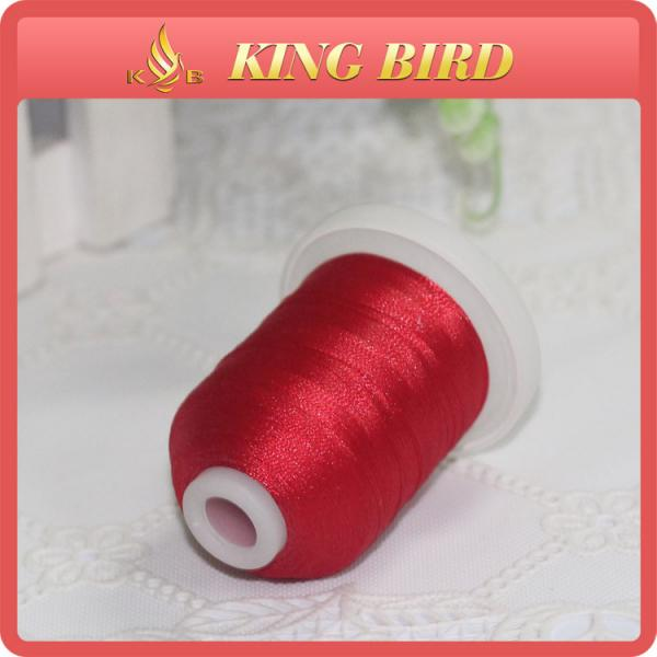 Quality High Temperature Resistant Embroidery Bobbin Thread , Leather Stitching Thread for sale