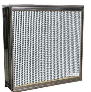 China Light Weight High Efficiency HEPA Filter Leak Proof Hot - Melt Beads Separator on sale