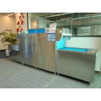 Buy cheap Stainless Steel Flight Type Dishwasher For Canteen Hotel 3900*850*1600mm from wholesalers