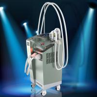 China Three Cooling Systerm Shr Hair Removal IPL RF Elight Machine Two Handles wholesale