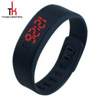 China Candy Color Digital Led Sports Watch Silicone Bracelet Watch Waterproof wholesale