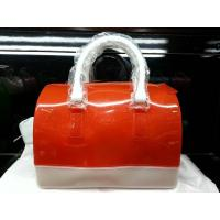 China Summer Colorful Silicone Jelly Candy Handbag For Girls School Portable Handbags wholesale