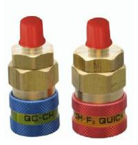 China QUICK COUPLER FOR REFRIGERATION, QC-12, R134a refrigeration quick coupler, QC-15L wholesale