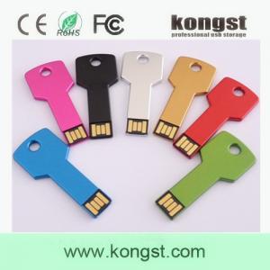 China Kongst Key shape usb flash drive, metal key usb, promotional gift usb key wholesale