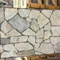China Random Loose Natural Stacked Stone Grey Color For Landscape Pavers / Wall wholesale
