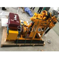 China Sinovo Spindle Exploring  Core Drilling Rig XY-1 with drilling depth 100m and rated power 15.7KW wholesale