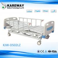 China Detachable Remote Control Electric Hospital Bed , Home Care Beds With Central Locking Casters wholesale