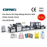 China Supplier Of High Efficiency Automatic Non Woven Fabric Bag Making Machine wholesale