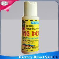 Original TAG#45 During Tattoo Anaesthetic Numb Midway Pain Stop Gel For Tattoo Permanent Makeup Factory Supply