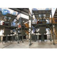 China Automatic Dry Mortar Production Line 10 - 20t/H Ceramic Tile Making Plant on sale