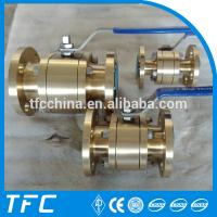 China B148 C95800 bronze ball valve supplier on sale
