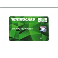 China Loyalty VIP Magnetic Stripe Card Contact Type Read - Write Method 0.76mm Standard Thickness on sale