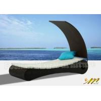 China Outdoor Lounge with Cushion, Rattan Chaise Loungers (M1B106) wholesale