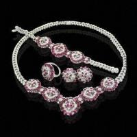China 925 Sterling Silver Jewelry, Fashionable Necklace, Various Design for Wedding are Available wholesale