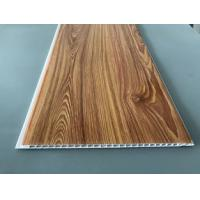 China Waterproof Wooden Color Decorative PVC Panels Easy Cleaning And Maintenance wholesale