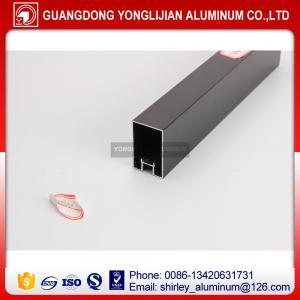 Anodized black aluminum profiles for door and window design,aluminum profile manufacturer