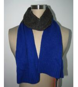 Buy cheap Femmes tricotant l'écharpe BGAX16067 de bleu royal d'accessoires de modèles from wholesalers