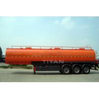 China truck trailer use fuel tanker trailer with tri axle for sale wholesale