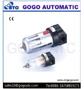 China 1/2 Inch Port Air Compressor Regulator , Copper Filter Cartridge Manual Air Regulator Valve on sale