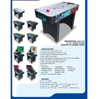 China 11 In 1 4 FT Multi Game Table Air Hockey Basketball Table For Competition wholesale
