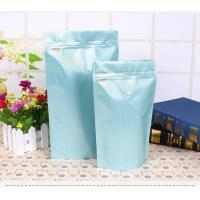 China PET Material 90 - 150 Thickness Coffee Packaging Bags With One Way Valve on sale