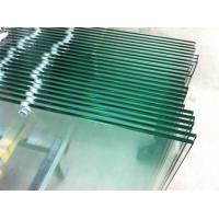 China Low iron glass / Tempered Safety Glass 6mm with holes predrilled Toughened Glass Panels on sale