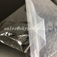 China Medical Grade Transparent Silicon Rubber Sheet Roll 1~25mmX500~1400mm wholesale
