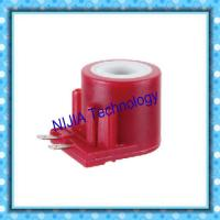 China Red Gas AC Solenoid Coil 2 Pin 15VA Insert Type Electromagnetic Coil wholesale