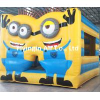 China Inflatable Moonwalk, Inflatable Minions Bouncy House with Blower for Sale on sale