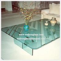 China Modern Glass Table Top Dining Table wholesale