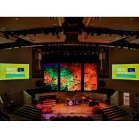 China Soled Color Pixel P3.91 Stage LED Display HD Video Performance Clear Vivid Image on sale