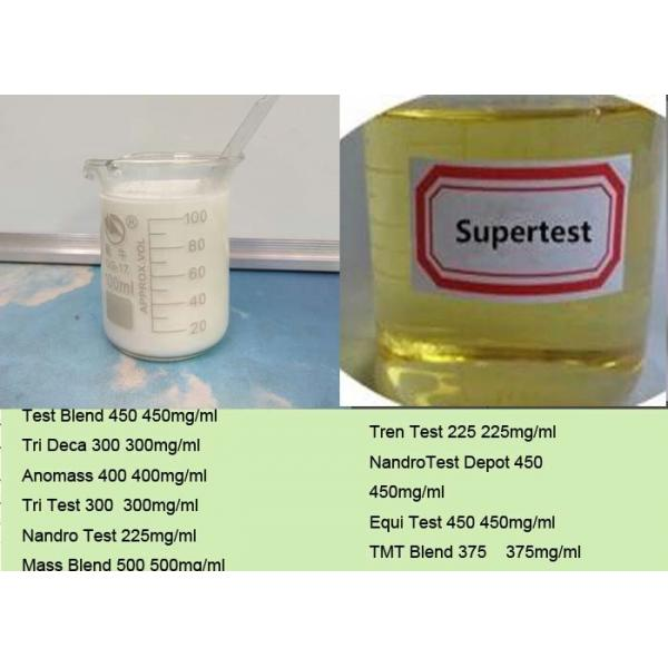 Quality Supertest 450 Testosterone Blend Injectable Steroid Oil To Build Muscles Mass  And Improve Streghth for sale