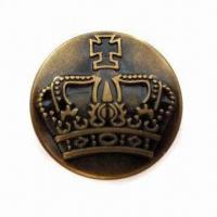 China Close Top Jeans Button, Made of Brass, Suitable for Various Apparel wholesale