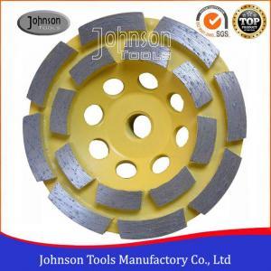 China Soft Medium Hard Bond Diamond Grinding Wheels For Fast Grinding Double Row wholesale