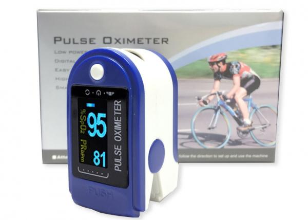 Quality Neutral Type Waveform Color Display Fingertip Pulse Oximeter SPO2 Blood Oxygen Saturation Monitor Pulse Rate Oximetro for sale