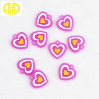 China Pink Loom Silicone Bracelet Charms For  Rubber Bands Bracelets Making wholesale