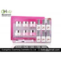 China Crack / Chip Resistant Acrylic Nail Dip Kit French Manicure Environment Friendly wholesale