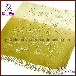 China Embroidery Pattern Hot Arab Hijab Muslim Fashion Scarf (AT09) wholesale