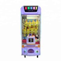 China Street Vending Claw Toy Grabber Machine , Small Plush Arcade Claw Machine wholesale
