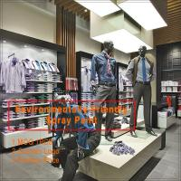 China new design wooden best men used clothing stores wholesale