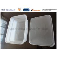 China Square Extra Large Plastic Storage Containers With Lids 1000ml 2000ml 3000ml 4000ml on sale