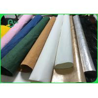 China Durable Colour Washable Kraft Tex Paper Rolls for DIY Fashion Paper Bags on sale