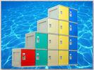China Gymnasium Fitness Center Lockers With On - Site Assembly 4 Comparts 1 Column wholesale