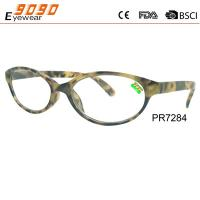 Buy cheap Classic culling fashion reading glasses with plastic frame ,suitable for women and men from wholesalers